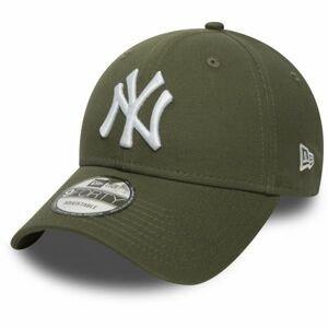 New Era MLB 9FORTY NEW YORK YANKEES tmavo zelená  - Pánska klubová šiltovka