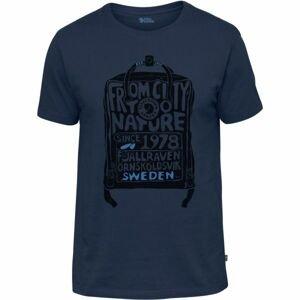 Fjällräven KANKEN T-SHIRT tmavo modrá S - Pánske tričko