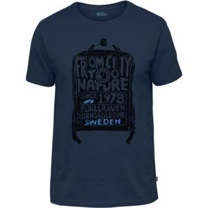 Fjällräven KANKEN T-SHIRT tmavo modrá M - Pánske tričko