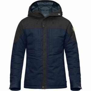 Fjällräven SKOGSÖ PADDED JACKET tmavo modrá S - Pánska zimná bunda
