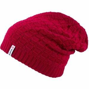 Kama ČIAPKA MERINO červená UNI - Pletená čiapka