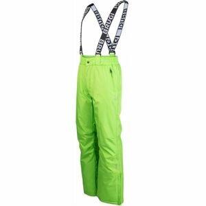 Brugi PÁNSKE LYŽIARSKE NOHAVICE zelená XL - Pánske lyžiarske nohavice