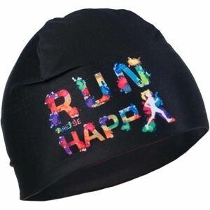 R-JET UNI OUTDOOR ČIAPKA HAPPY čierna UNI - Športová čiapka
