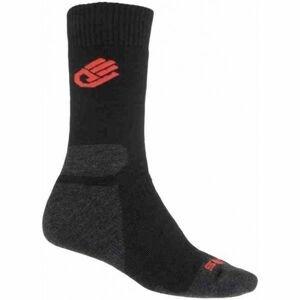 Sensor EXPEDITION MERINO čierna 43 - 46 - Ponožky