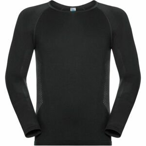 Odlo SHIRT L/S SEAMLESS WARM TOP čierna XL - Pánske funkčné tričko