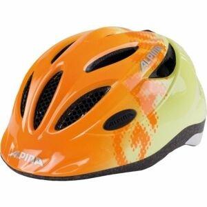 Alpina Sports GAMMA 2.0 oranžová (46 - 51) - Detská cyklistická prilba