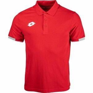 Lotto POLO DELTA červená XXL - Pánske tričko polo