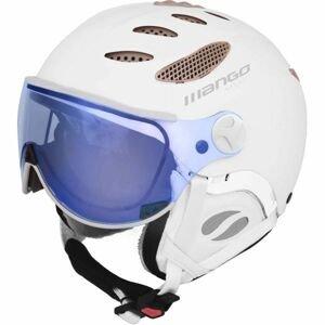 Mango CUSNA VIP biela (60 - 62) - Unisex lyžiarska prilba s priezorom