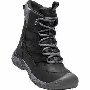 Keen HOODOO III LACE UP čierna 7.5 - Dámska zimná obuv