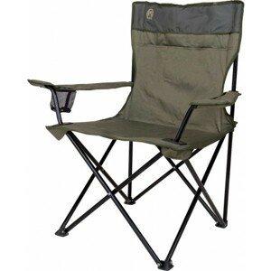 Coleman STANDARD QUAD CHAIR zelená NS - Skladacia stolička