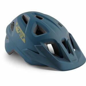 Met ECHO modrá (52 - 57) - Prilba na bicykel