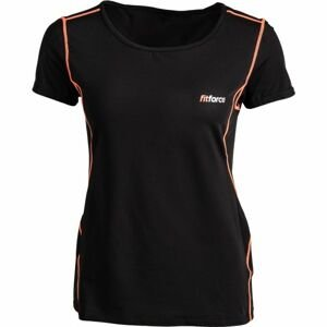 Fitforce CARMEN ružová XS - Dámske fitness tričko