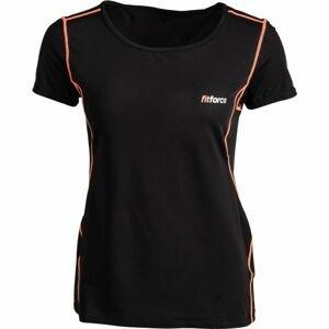 Fitforce CARMEN ružová M - Dámske fitness tričko