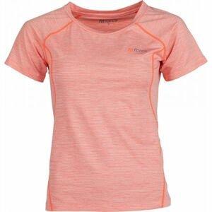 Fitforce NESSA ružová M - Dámske športové tričko