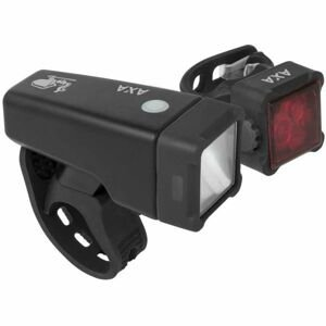 AXA NITELINE T4-R  NS - Set predného a zadného svetla na bicykel
