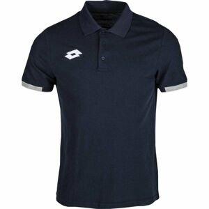 Lotto POLO DELTA tmavo modrá XL - Pánske tričko polo