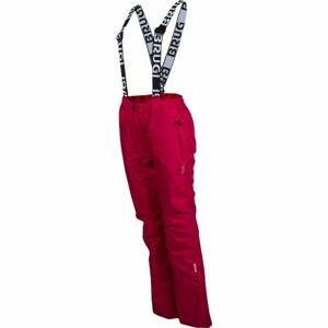 Brugi DÁMSKE LYŽIARSKE NOHAVICE ružová XL - Dámske zimné nohavice