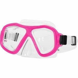 Miton MIAMI ružová NS - Potápačská maska