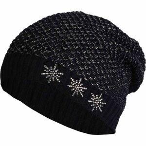R-JET UNI ŠMOULA - PREDĹŽENÁ ČIAPKA čierna UNI - Dámska predĺžená čiapka