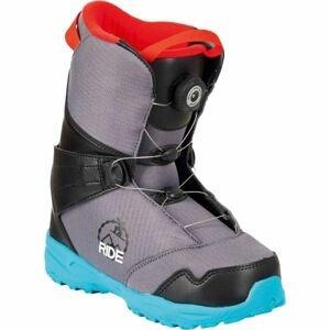 FTWO TEAM KIDS ATOP  34 - Detská snowboardová obuv