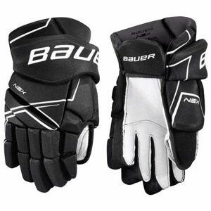 Bauer NSX GLOVES SR čierna 13 - Hokejové rukavice