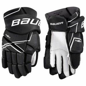 Bauer NSX GLOVES JR čierna 11 - Juniorské hokejové rukavice