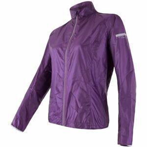 Sensor PARACHUTE W fialová S - Dámska športová bunda