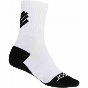 Sensor RACE MERINO BLK biela 39 - 42 - Ponožky