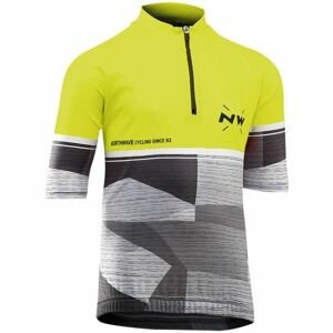 Northwave ORIGIN JR žltá 12 - Detský cyklo dres