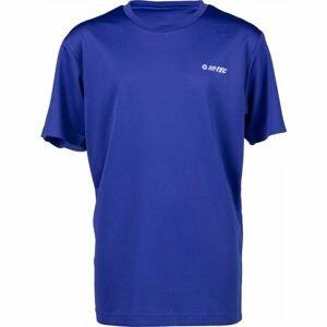 Hi-Tec SELINO JR modrá 140 - Detské tričko