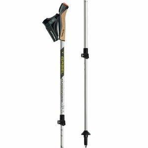 Gabel FUSION CORK-TECH sivá 59 - 130 - Trekingové palice