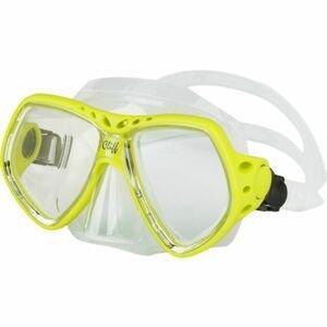 Finnsub CLIFF MASK žltá NS - Potápačská maska