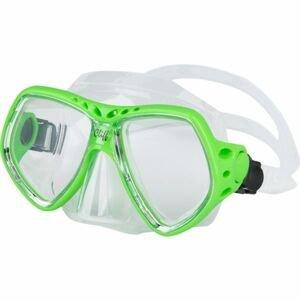 Finnsub CLIFF MASK zelená NS - Potápačská maska