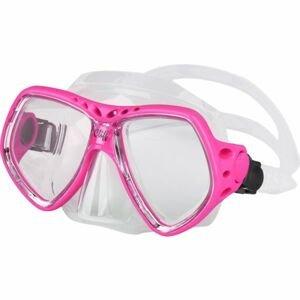Finnsub CLIFF MASK ružová NS - Potápačská maska