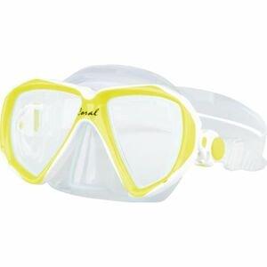 Finnsub CORAL JR MASK žltá NS - Juniorská potápačská maska