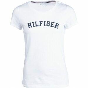 Tommy Hilfiger SS TEE PRINT biela L - Dámske tričko