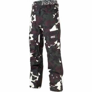 Picture UNDER čierna L - Pánske zimné nohavice