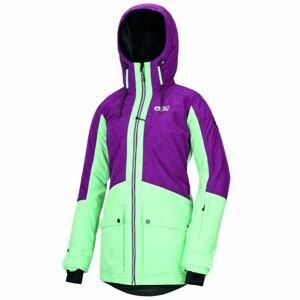 Picture MINERAL fialová XL - Dámska zimná bunda