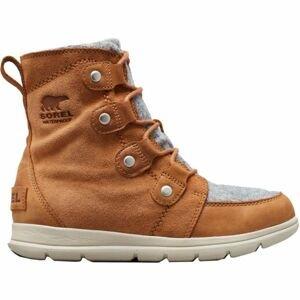 Sorel EXPLORER JOAN hnedá 7.5 - Dámska zimná obuv