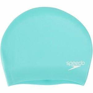 Speedo LONG HAIR CAP svetlo zelená NS - Plavecká čiapka na dlhé vlasy