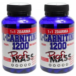 Profimass PROFI L-CARNITINE 1200 60+60 KAPSÚĽ  NS - Tablety