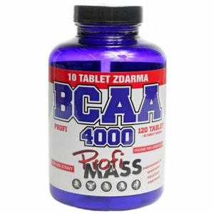 Profimass PROFI BCAA 4000 120+10 TABLIET  NS - Aminokyseliny