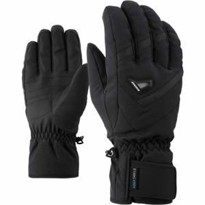 Ziener GARY AS čierna 10 - Pánske rukavice
