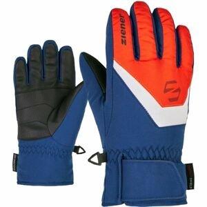 Ziener LORIK JR modrá 4 - Detské rukavice