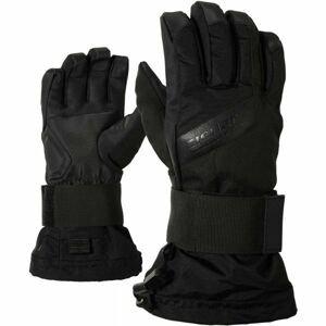 Ziener MIKKS AS JR čierna M - Detské rukavice