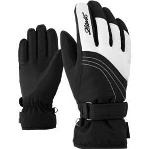 Ziener KONNY AS W čierna 7,5 - Dámske rukavice
