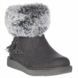 Junior League AGNETA čierna 34 - Detská zimná obuv