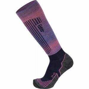 Eisbär SKI W TECH LIGHT DX + SX ružová 35 - 38 - Dámske lyžiarske ponožky