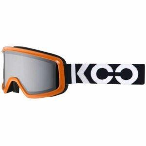 KOO ECLIPSE oranžová NS - Lyžiarske okuliare