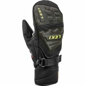 Leki JR RACE COACH C-TECH S T čierna 8 - Juniorské  zjazdové rukavice